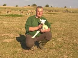 Jérôme Ficheux et agneau