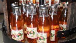 bouteille de jus de pomme 1 l