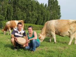 Marie et Loic Brard fromages de vache