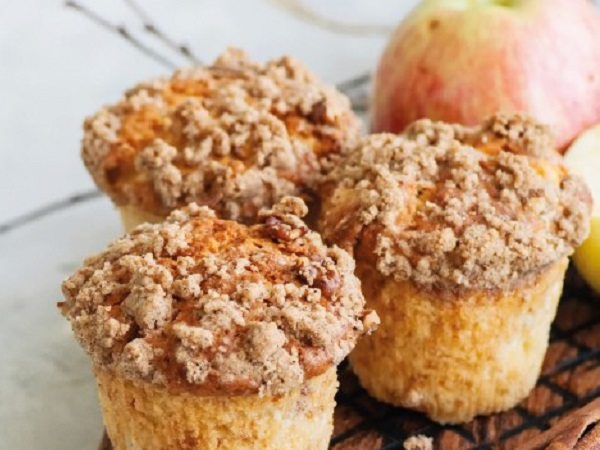 Muffin pomme et cannelle